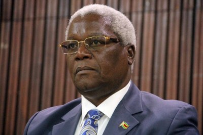 Finance Minister Ignatius Chombo (file photo).