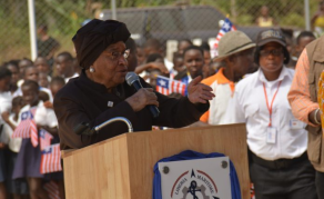New Think Tank Appointment for Liberia's Johnson Sirleaf