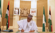 Done and Dusted - Buhari Finally Signs 2018 Budget