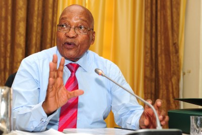 President Jacob Zuma at the Extended Cabinet Meeting (Lekgotla) taking place from today, 31 January to 02 February 2018 at the Sefako M. Makgatho Presidential Guesthouse, in Pretoria.