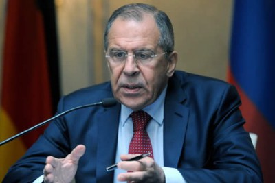 Russian Foreign Minister Sergey Lavrov (file photo).