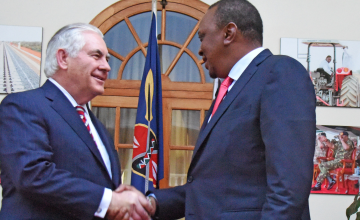 Visiting U.S. Secretary Both Praises and Chides Kenya
