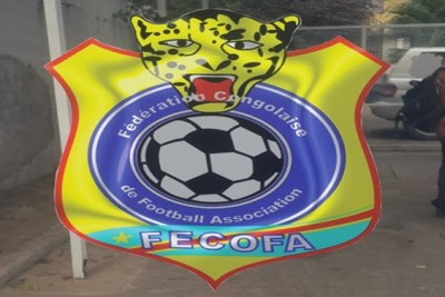 Le logo de la Fédération congolaise de football association (Fecofa)