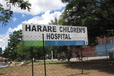 Harare Children's Hospital (file photo).