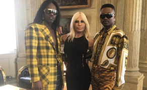 FAKA, South African Artists, Flown to Milan by Donatella Versace