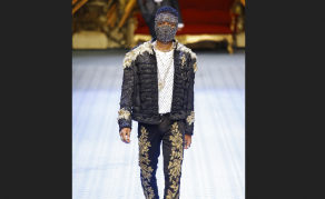No Stopping Wizkid as He Walks For Dolce and Gabbana