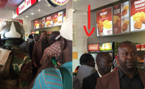 Even Mnangagwa Can't Resist Fried Chicken