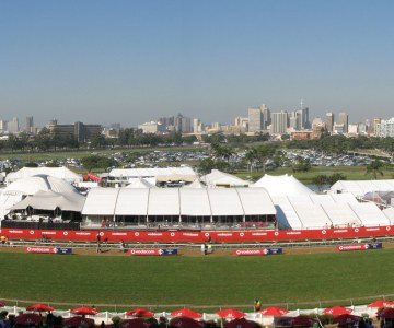 Africa's premier horseracing event, the Durban July