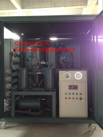 High vacuum Transformer Oil Purifier