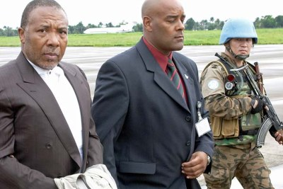 Transfer of Charles Taylor for trial for war crimes in the Hague.