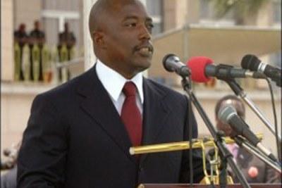 Le Président Joseph Kabila - DRC President Kabila