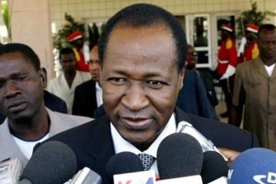 Blaise COMPAORE, ancien Président du Burkina Faso - Faso President Compaore
