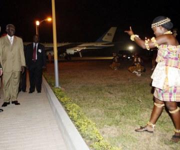 President Bush Visits Ghana