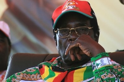 President Robert Mugabe. Heidi Holland rose to fame with her 2008 controversial biography titled