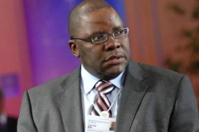 Tendai Biti, Zimbabwe Finance Minister.