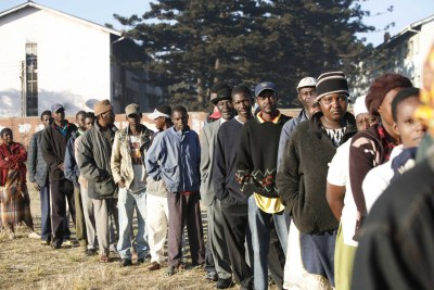 Voters queue in 2008 elections (file photo).