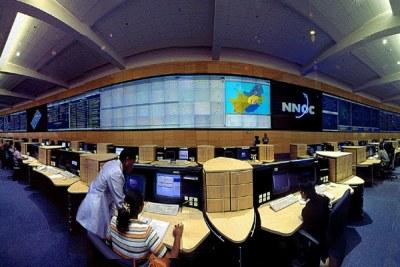 Telkom's control centre.
