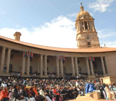 Africa's Presidents Turn Out For Zuma's Inauguration as President