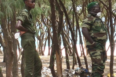 Senegal's army has deployed heavily in Casamance but has failed to secure peace (file photo).