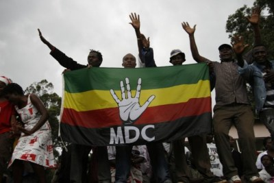 MDC-T supporters (file photo).