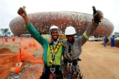 South Africa and Mexico will open the 2010 Fifa World Cup at Soccer City, Johannesburg, next June.