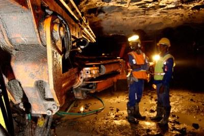 Zimbabwe: Zimplats mine.