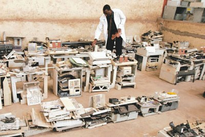 According to UNEP, the annual generation of e-waste in Kenya stands at 11,400 tonnes.