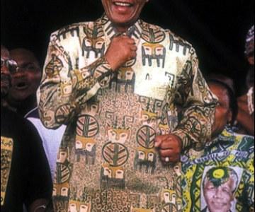 Nelson Mandela, Icon