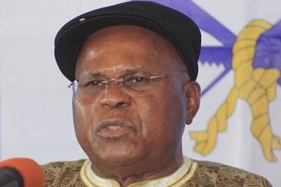 Etienne Tshisekedi, candidat de l'Opposition à la présidentielle 2011