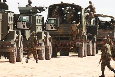 L'armée Kenyane en Somalie