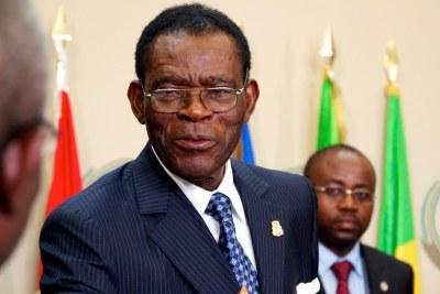 Teodoro Obiang, Président de la Guinée Equatoriale
