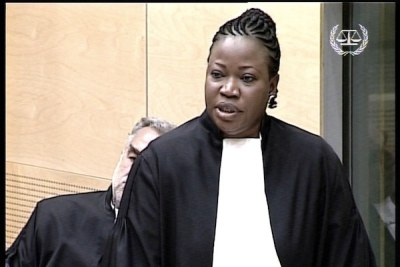 Fatou Bensouda a prêté serment, le 15 juin 2012.