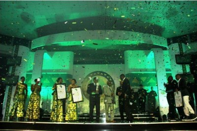The CAF Awards Gala held on Thursday, December 22 at the Banquet Hall, State House in Accra.