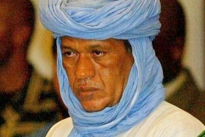 Iyad Ag Ghali dirigeant du mouvement Ansar Dine