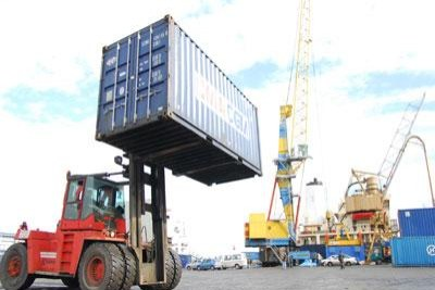 Imporrtations au port