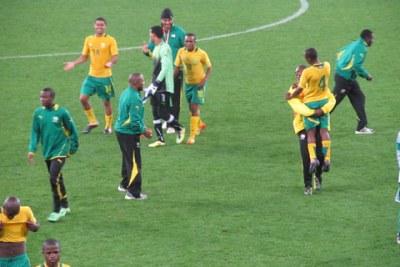 The South Africa, Under-20 Men's National team 'Amajita'.