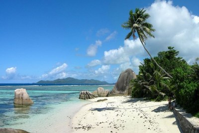 The beach of Anse Source d'Argent on La Digue, Seychelles (file photo).