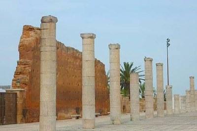 Un site du patrimoine mondial de l'UNESCO à Rabat