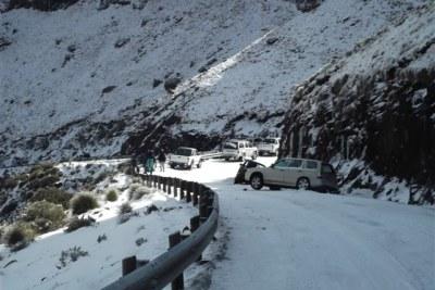 Lesotho Snowfalls