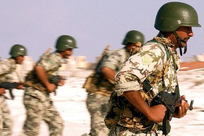 Egyptian Army soldiers (file photo).
