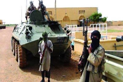 Des militants d'Al-Qaeda Maghreb au Mali.