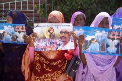 Des militants de droits humains exigent la libération d'Ould Dadda