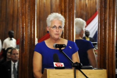 U.S Ambassador to Liberia Deborah Ruth Malac.