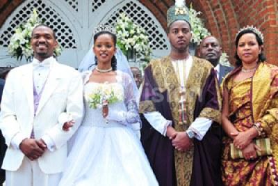 Princess Ruth Komuntale weds.