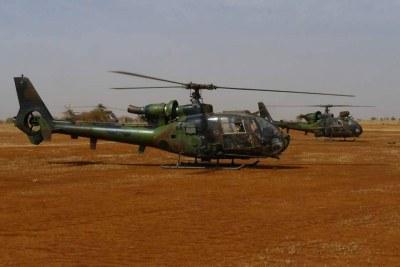 Opération Serval le 11 janvier 2013