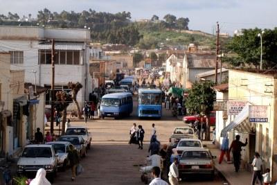 Une rue à Asmara, Érythrée (photo d'archive).