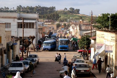 Une rue d'Asmara, en Érythrée (photo d'archives).