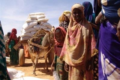 Aide alimentaire - Corne de l'Afrique