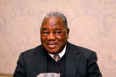 Rupiah Banda, ancien président de la Zambie, aujourd'hui accusé de détournement de deniers publics.