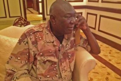 Michel Djotodia, le chef de la coalition de la Seleka qui s'est autoproclamé nouveau président de la République centrafricaine.